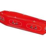 Studio Modern Coffin Red